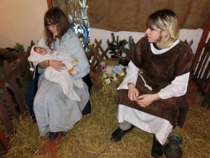 Kerststal (2)