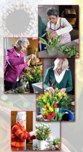 2. Dames bloemschikken